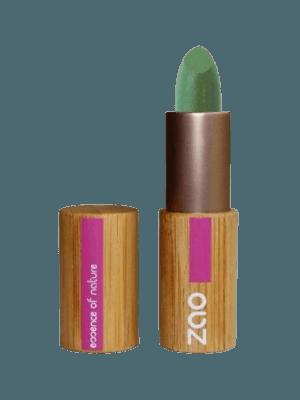 Corrector verde imperfecciones rojeces granitos marcas manchas piel stick zao recargable