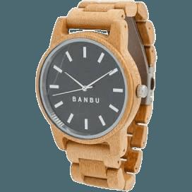 Reloj banbu bambu